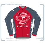 FLYWHEEL MEN Euro LS Winter Jersey TT Red