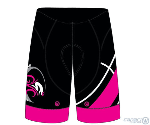 Green Valley Cyclist MEN XRT Gravity Bib Monarch Hot Magenta