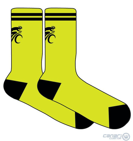 Green Valley Cyclist WMN Socks Unmellow Yellow