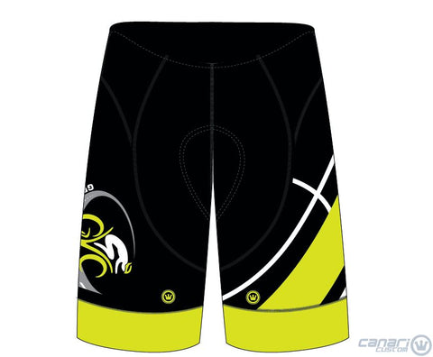 Green Valley Cyclist MEN XRT Gravity Bib Monarch Unmellow Yellow