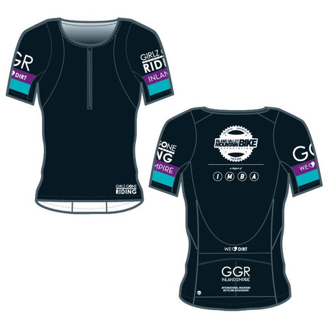 GGR-IE Bella Goat Jersey - BLACK