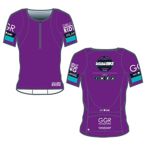 GGR-IE Bella Goat Plus Jersey - PURPLE