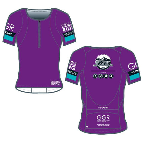 GGR-KC Bella Goat Plus Jersey - PURPLE
