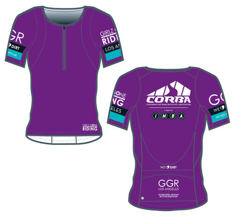GGR-LA Bella Goat Plus Jersey - PURPLE