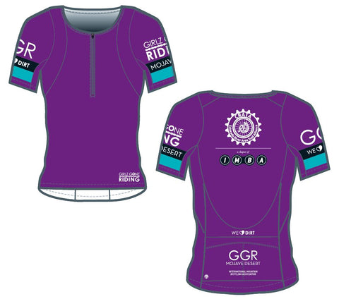 GGR-MD Bella Goat Plus Jersey - PURPLE