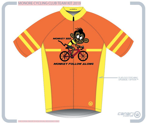 Monroe Cycling Club M Euro SS Jersey MONKEYMS