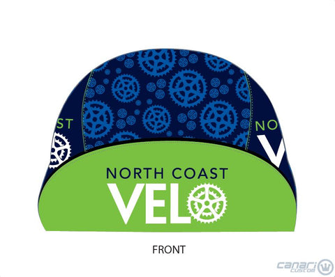 North Coast Velo Unisex Cycling Cap Blue