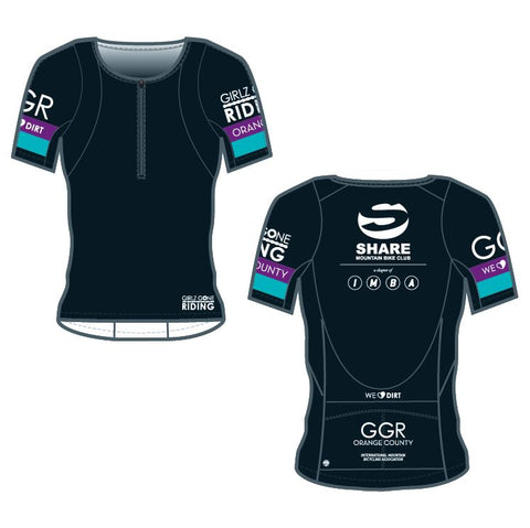 GGR-OC Bella Goat Plus Jersey - BLACK