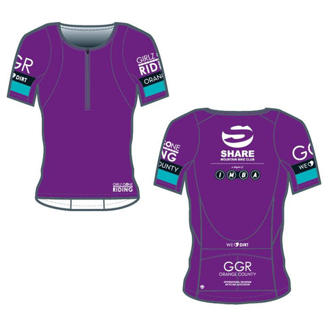 GGR-OC Bella Goat Plus Jersey - PURPLE