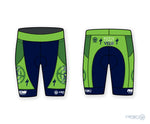 North Coast Velo M PR Tri Short PR Green