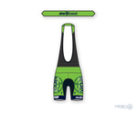 North Coast Velo Petunia Bib Short Green