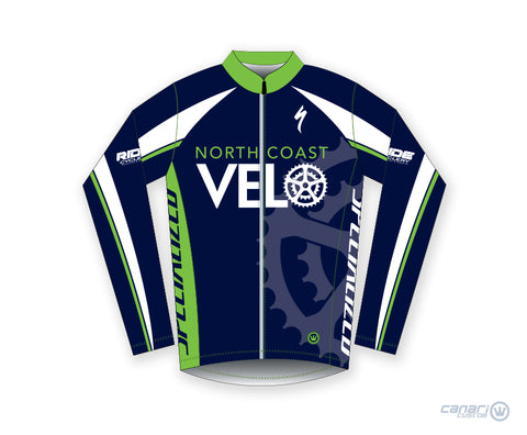 North Coast Velo Unisex Wind Jacket Blue