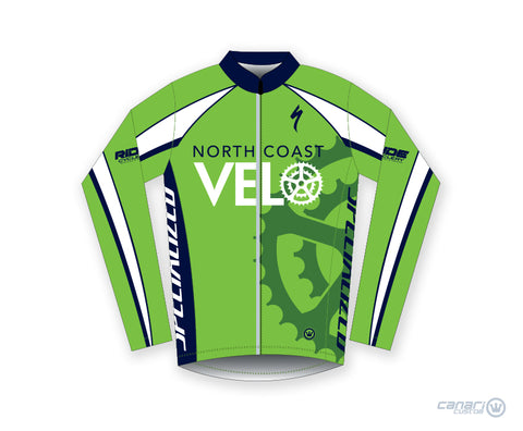 North Coast Velo W Raceday Wind Jacket Green