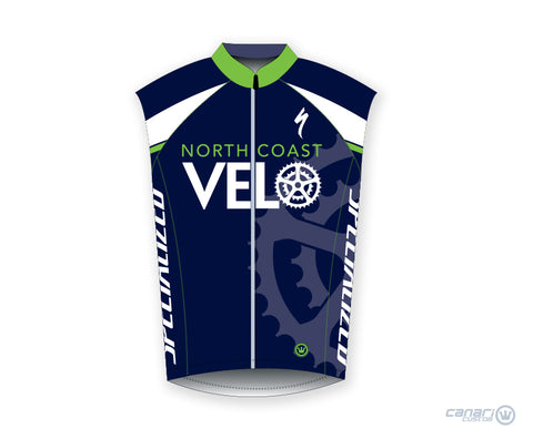 North Coast Velo M Raceday Wind Vest Blue