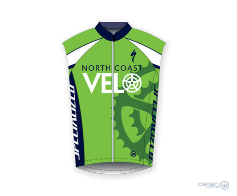 North Coast Velo M Raceday Wind Vest Green
