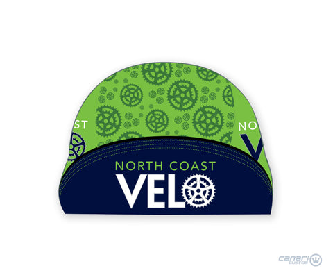 North Coast Velo Unisex Cycling Cap Green