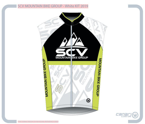 SCV Mountain Bike M Raceday Wind Vest Moonrock