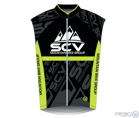 SCV Mountain Bike  W Raceday Wind Vest Black