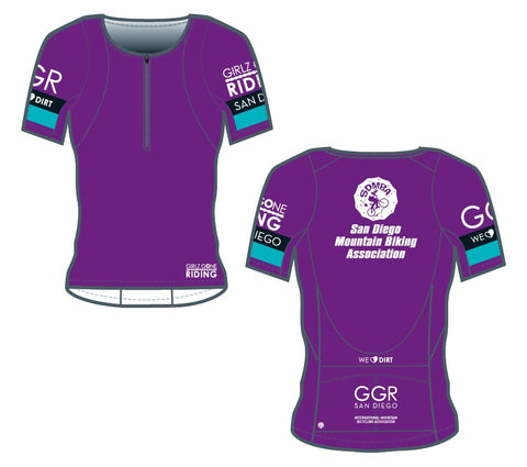 GGR-SD Bella Goat Jersey - PURPLE