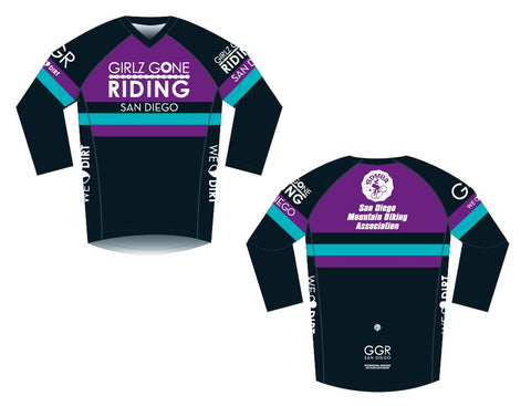 GGR-SD Enduro 3/4 Sleeve Jersey