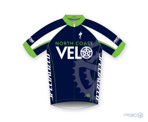 North Coast Velo M Vortex SS Jersey Blue