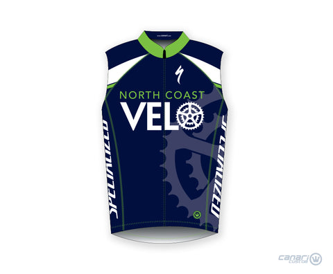 North Coast Velo W Club Sleeveless Jersey D Blue
