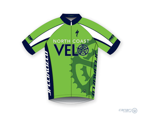 North Coast Velo M Club SS Jersey D Green