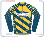 South Texas Pedal Club M Euro LS Jersey D Stripes And Dots