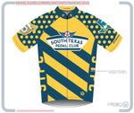 South Texas Pedal Club M Euro SS Jersey D Stripes And Dots