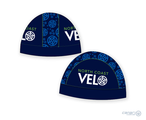 North Coast Velo Unisex Summer Skull Cap Blue