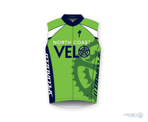 North Coast Velo W Club Sleeveless Jersey D Green