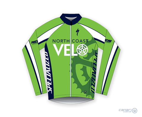 North Coast Velo Unisex Wind Jacket Green