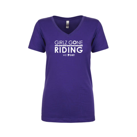 GGR V-Neck Tee Shirt - Purple