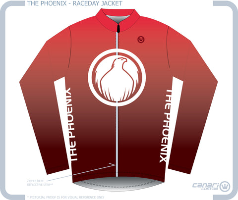 The PHOENIX W Raceday Wind Jacket OUTERWEAR