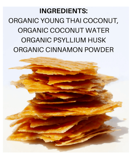 40% Saving! - Coconut Chips: Cinnamon