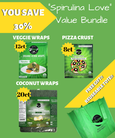 The Spirulina Love Bundle - Wrawp Foods