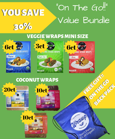 On The Go Bundle - Wrawp Foods