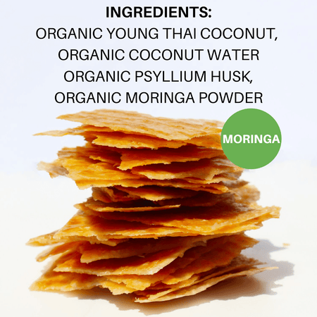 Coconut Chips: Moringa