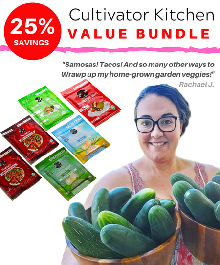 BUNDLE 25% saving! - The Cultivator Kitchen Value