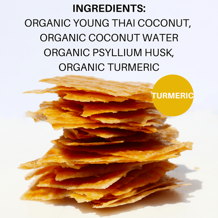 40% Saving! - Coconut Chips: Turmeric