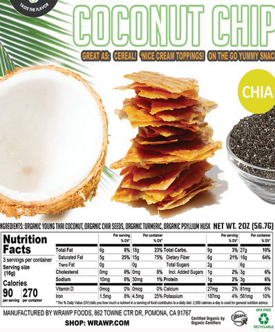 40% Saving! - Coconut Chips: Chia