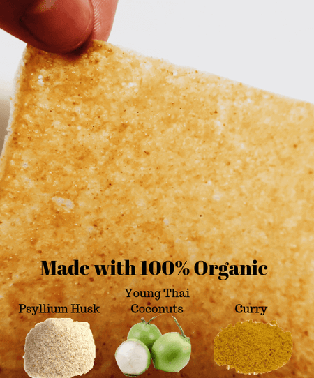 Coco Nori Organic Curry Coconut Wraps