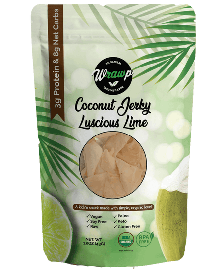 50% Saving! - Coconut Jerky: Luscious Lime