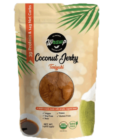 COCONUT JERKY: TERIYAKI - Wholesale