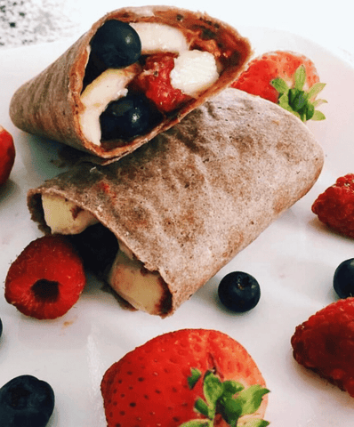 Organic Coconut Wraps - Dark Original