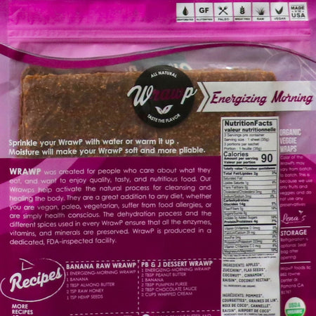 25% Saving! - Mini Veggie Wrap: Energy Morning