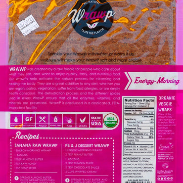 Veggie Wraps: Energy Morning