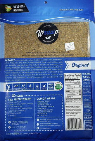 Original Veggie Wraps - Wholesale