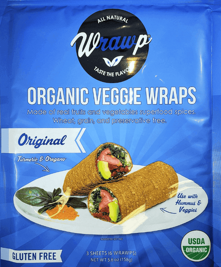 25% Saving! - IMPERFECT Veggie Wraps: Original (12 sheets)