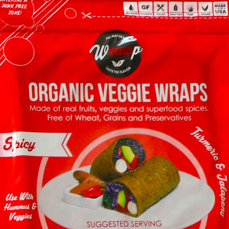 Mini Veggie Wrap: Spicy